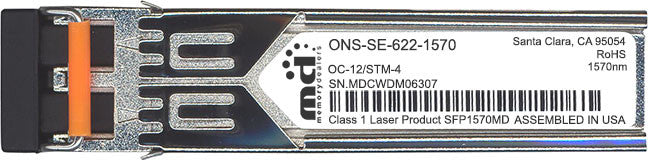 Cisco SFP Transceivers ONS-SE-622-1570 (100% Cisco Compatible) SFP Transceiver Module