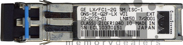 Cisco SFP Transceivers ONS-SE-G2F-LX (Cisco Original) SFP Transceiver Module