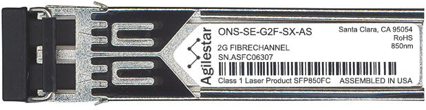 Cisco SFP Transceivers ONS-SE-G2F-SX-AS (Agilestar Original) SFP Transceiver Module