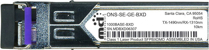 Cisco SFP Transceivers ONS-SE-GE-BXD (100% Cisco Compatible) SFP Transceiver Module