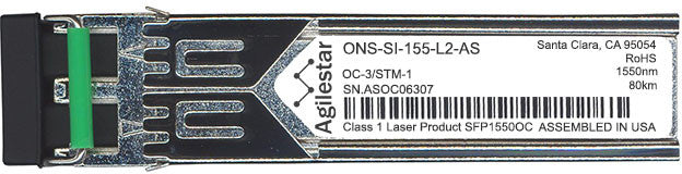 Cisco SFP Transceivers ONS-SI-155-L2-AS (Agilestar Original) SFP Transceiver Module