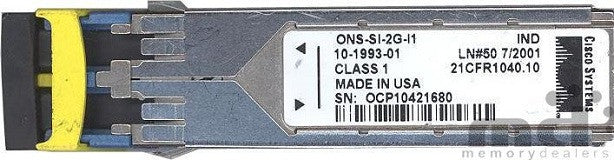 Cisco SFP Transceivers ONS-SI-2G-I1 (Cisco Original) SFP Transceiver Module