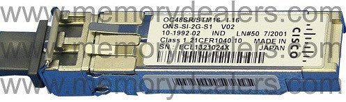 Cisco SFP Transceivers ONS-SI-2G-S1 (Cisco Original) SFP Transceiver Module