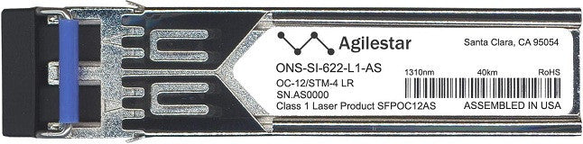Cisco SFP Transceivers ONS-SI-622-L1-AS (Agilestar Original) SFP Transceiver Module