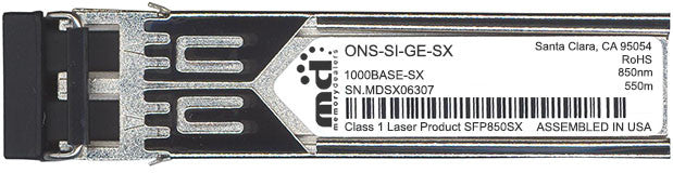 Cisco SFP Transceivers ONS-SI-GE-SX (100% Cisco Compatible) SFP Transceiver Module