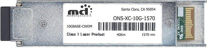 Cisco XFP Transceivers ONS-XC-10G-1570 (100% Cisco Compatible) XFP Transceiver Module