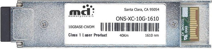 Cisco XFP Transceivers ONS-XC-10G-1610 (100% Cisco Compatible) XFP Transceiver Module