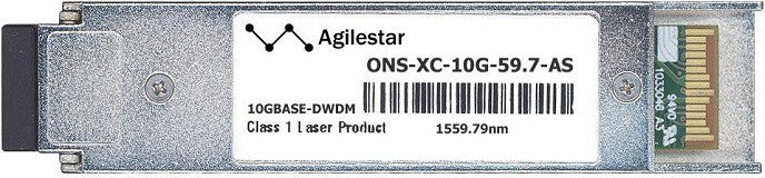 Cisco XFP Transceivers ONS-XC-10G-59.7-AS (Agilestar Original) XFP Transceiver Module