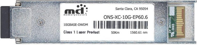 Cisco XFP Transceivers ONS-XC-10G-EP60.6 (100% Cisco Compatible) XFP Transceiver Module