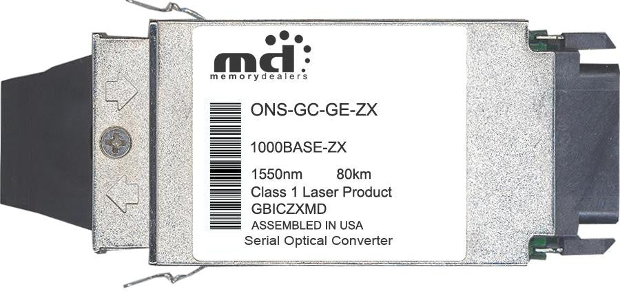 Cisco GBIC Transceivers ONS-GC-GE-ZX (100% Cisco Compatible) GBIC Transceiver Module