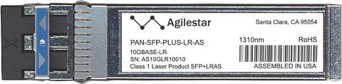 Palo Alto Networks PAN-SFP-PLUS-LR-AS (Agilestar Original) SFP+ Transceiver Module