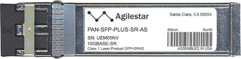 Palo Alto Networks PAN-SFP-PLUS-SR-AS (Agilestar Original) SFP+ Transceiver Module