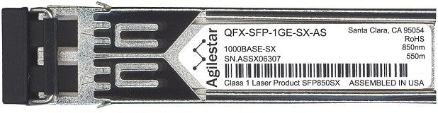 Juniper Networks QFX-SFP-1GE-SX-AS (Agilestar Original) SFP Transceiver Module
