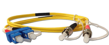 Cables SC to ST SM DX (1 Meter)  Transceiver Module