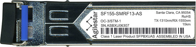 FibroLAN SF155-SMRF13-AS (Agilestar Original) SFP Transceiver Module