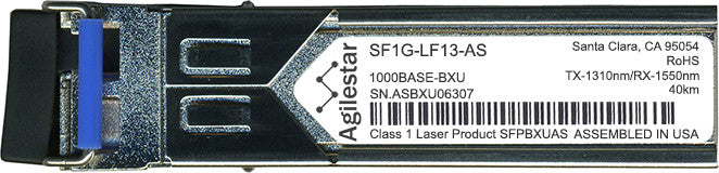 FibroLAN SF1G-LF13-AS (Agilestar Original) SFP Transceiver Module