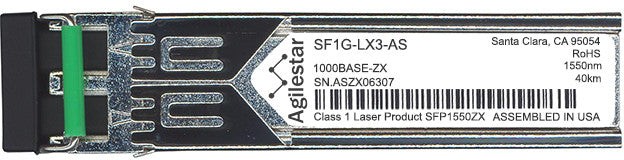 FibroLAN SF1G-LX3-AS (Agilestar Original) SFP Transceiver Module