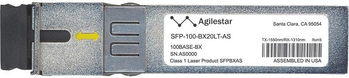 Alcatel SFP Transceivers SFP-100-BX20LT-AS (Agilestar Original) SFP Transceiver Module