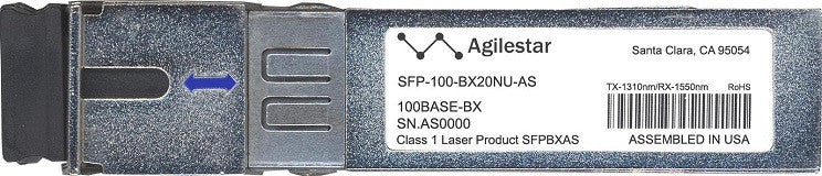 Alcatel SFP Transceivers SFP-100-BX20NU-AS (Agilestar Original) SFP Transceiver Module