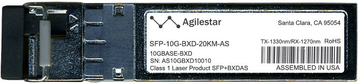 Cisco SFP+ Transceivers SFP-10G-BXD-20KM-AS (Agilestar Original) SFP+ Transceiver Module