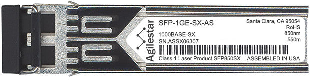 Juniper Networks SFP-1GE-SX-AS (Agilestar Original) SFP Transceiver Module