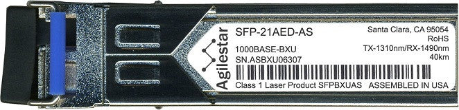 RAD SFP-21AED-AS (Agilestar Original) SFP Transceiver Module