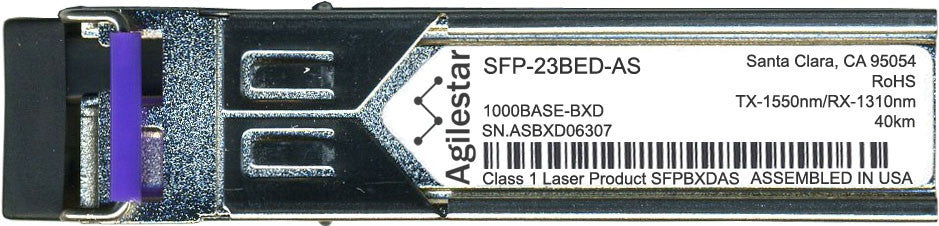 RAD SFP-23BED-AS (Agilestar Original) SFP Transceiver Module