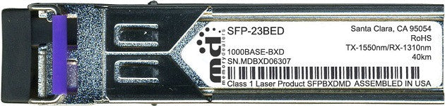 RAD SFP-23BED (100% RAD Compatible) SFP Transceiver Module
