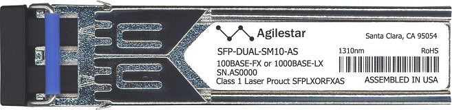 Alcatel SFP Transceivers SFP-DUAL-SM10-AS (Agilestar Original) SFP Transceiver Module