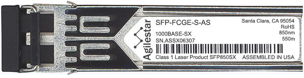 Cisco SFP Transceivers SFP-FCGE-S-AS (Agilestar Original) SFP Transceiver Module