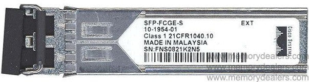 Cisco SFP Transceivers SFP-FCGE-S (Cisco Original) SFP Transceiver Module