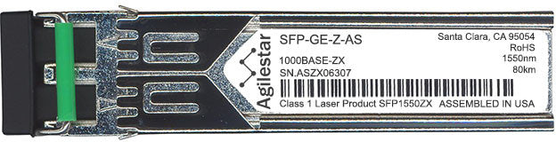 Cisco SFP Transceivers SFP-GE-Z-AS (Agilestar Original) for Cisco SFP Transceiver Module