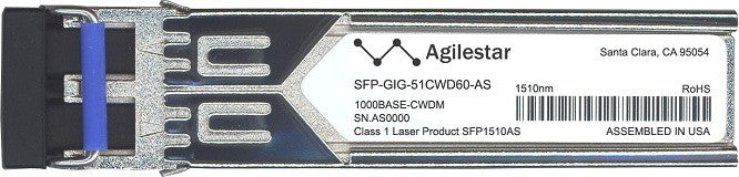 Alcatel SFP Transceivers SFP-GIG-51CWD60-AS (Agilestar Original) SFP Transceiver Module