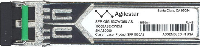Alcatel SFP Transceivers SFP-GIG-53CWD60-AS (Agilestar Original) SFP Transceiver Module