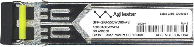 Alcatel SFP Transceivers SFP-GIG-55CWD60-AS (Agilestar Original) SFP Transceiver Module