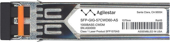 Alcatel SFP Transceivers SFP-GIG-57CWD60-AS (Agilestar Original) SFP Transceiver Module