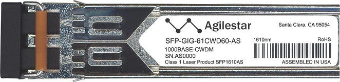 Alcatel SFP Transceivers SFP-GIG-61CWD60-AS (Agilestar Original) SFP Transceiver Module