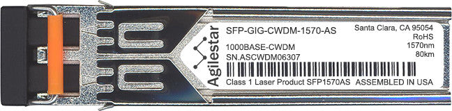 Alcatel SFP Transceivers SFP-GIG-CWDM-1570-AS (Agilestar Original) SFP Transceiver Module