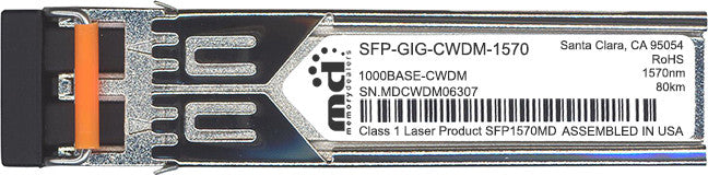 Alcatel SFP Transceivers SFP-GIG-CWDM-1570 (100% Alcatel Compatible) SFP Transceiver Module