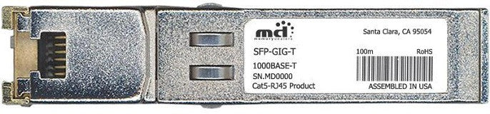 Alcatel SFP Transceivers SFP-GIG-T (100% Alcatel-Lucent Compatible) SFP Transceiver Module