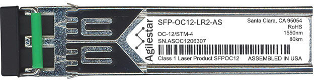 Cisco SFP Transceivers SFP-OC12-LR2-AS (Agilestar Original) SFP Transceiver Module