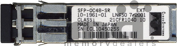 Cisco SFP Transceivers SFP-OC48-SR (Cisco Original) SFP Transceiver Module