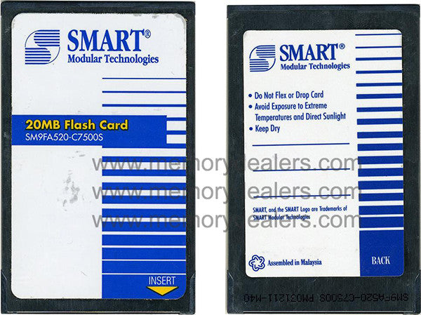 Memory SM9FA520-C7500S 20mb Smart Flash Card  Transceiver Module