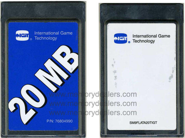 Memory SM9FLATA20TIGT 20mb International Game Technology  Transceiver Module