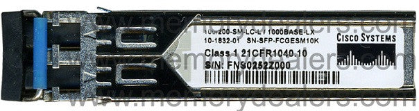 Cisco SFP Transceivers SN-SFP-FCGESM10K (Cisco Original) SFP Transceiver Module