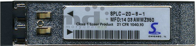 Stratos Lightwave SPLC-20-8-1 (Stratos Original) SFP Transceiver Module