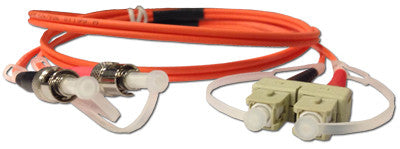 Cables SC to ST MM DX 1M  Transceiver Module