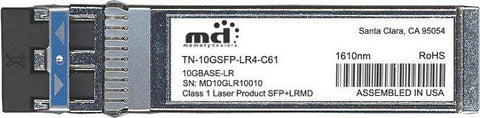 Transition Networks TN-10GSFP-LR4-C61 (100% Transition Networks Compatible) SFP+ Transceiver Module