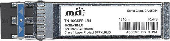 Transition Networks TN-10GSFP-LR4 (100% Transition Networks Compatible) SFP+ Transceiver Module