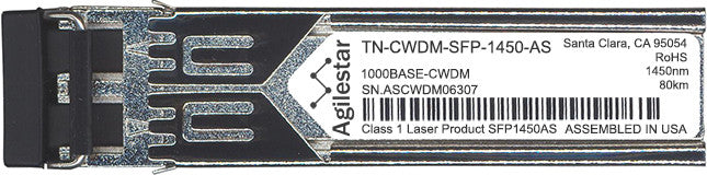 Transition Networks TN-CWDM-SFP-1450-AS (Agilestar Original) SFP Transceiver Module